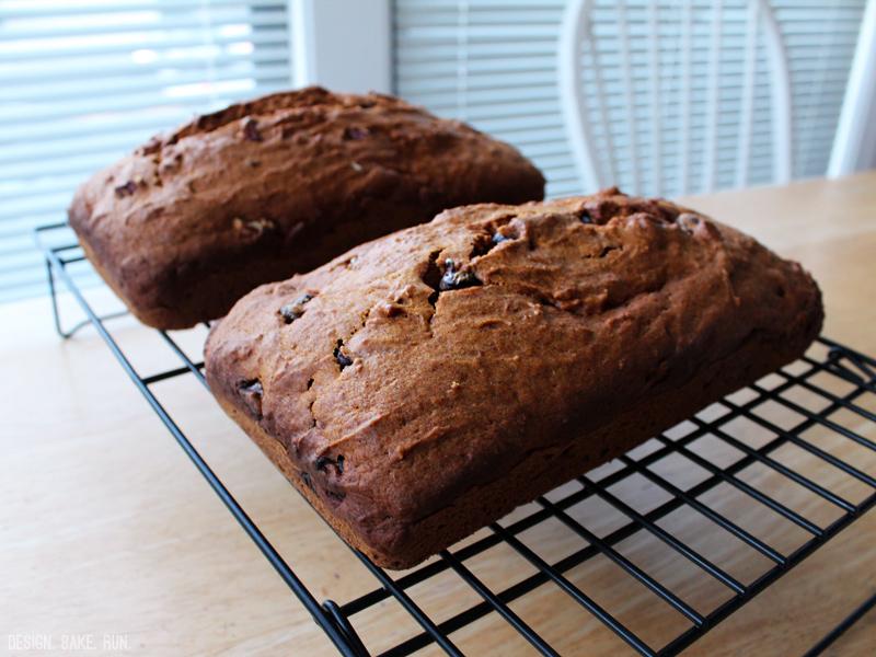 Pumpkin Breads via design. bake. run.